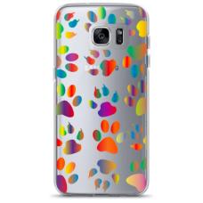 "Samsung Galaxy S7 edge silicone phone case with unique design 1.0 mm ""u-case Airskin PAW design"""