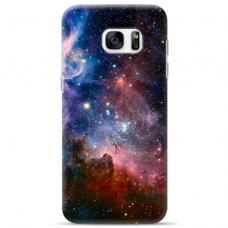 "Samsung Galaxy S7 Edge silicone phone case with unique design 1.0 mm ""u-case Airskin Space 2 design"""