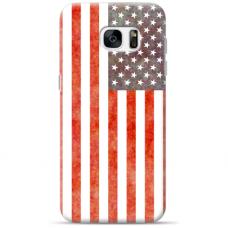 """Samsung Galaxy S7 Edge Unique Silicone Case 1.0 mm """"u-case Airskin USA design"""""""