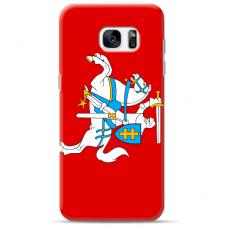 "Samsung Galaxy S7 Edge silicone phone case with unique design 1.0 mm ""u-case Airskin Vytis design"""