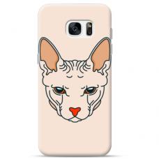 """Samsung Galaxy S7 silicone phone case with unique design 1.0 mm """"u-case Airskin Kato design"""""""