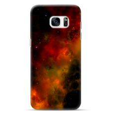 "Samsung Galaxy S7 Unique Silicone Case 1.0 mm ""u-case Airskin Space 1 design"""