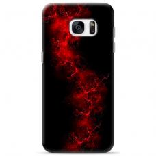 "Samsung Galaxy S7 Unique Silicone Case 1.0 mm ""u-case Airskin Space 3 design"""