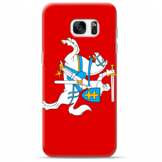 "Samsung Galaxy S7 silicone phone case with unique design 1.0 mm ""u-case Airskin Vytis design"""
