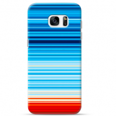"""Samsung Galaxy S7 TPU case with unique design 1.0 mm """"u-case Airskin Pattern 2 design"""""""