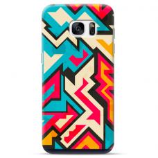 """Samsung Galaxy S7 TPU case with unique design 1.0 mm """"u-case Airskin Pattern 7 design"""""""