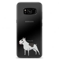 "Samsung Galaxy S8 plus silicone phone case with unique design 1.0 mm ""u-case Airskin Doggo 3 design"""