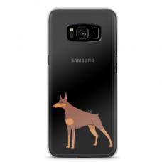 "Samsung Galaxy S8 plus silicone phone case with unique design 1.0 mm ""u-case Airskin Doggo 6 design"""