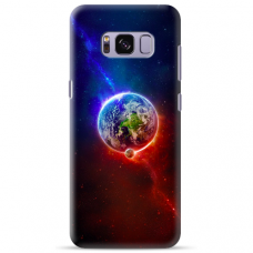 "Samsung Galaxy S8 plus silicone phone case with unique design 1.0 mm ""u-case Airskin Nature 4 design"""