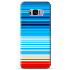 "Samsung Galaxy S8 plus silicone phone case with unique design 1.0 mm ""u-case Airskin Pattern 2 design"""