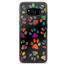 "Samsung Galaxy S8 plus silicone phone case with unique design 1.0 mm ""u-case Airskin PAW design"""