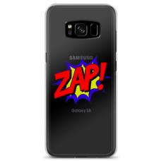 "Samsung Galaxy S8 plus Unique Silicone Case 1.0 mm ""u-case airskin ZAP design"""