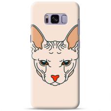 """Samsung Galaxy S8 Unique Silicone Case 1.0 mm """"u-case Airskin Kato design"""""""