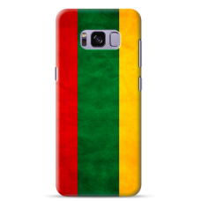 "Samsung Galaxy S8 Unique Silicone Case 1.0 mm ""u-case Airskin Lietuva design"""
