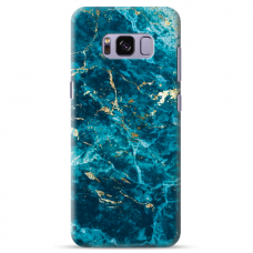 "Samsung Galaxy S8 silicone phone case with unique design 1.0 mm ""u-case Airskin Marble 2 design"""