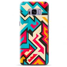 "Samsung Galaxy S8 Unique Silicone Case 1.0 mm ""u-case Airskin Pattern 7 design"""
