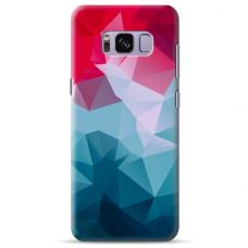 "Samsung Galaxy S8 Unique Silicone Case 1.0 mm ""u-case Airskin Pattern 8 design"""