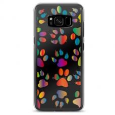 "Samsung Galaxy S8 Unique Silicone Case 1.0 mm ""u-case Airskin PAW design"""