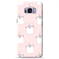 "Samsung Galaxy S8 Unique Silicone Case 1.0 mm ""u-case Airskin Pink Kato design"""