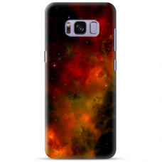 "Samsung Galaxy S8 Unique Silicone Case 1.0 mm ""u-case Airskin Space 1 design"""