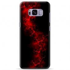 "Samsung Galaxy S8 Unique Silicone Case 1.0 mm ""u-case Airskin Space 3 design"""