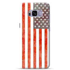 "Samsung Galaxy S8 Unique Silicone Case 1.0 mm ""u-case Airskin USA design"""