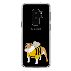 "Samsung Galaxy S9 plus silicone phone case with unique design 1.0 mm ""u-case Airskin Doggo 1 design"""