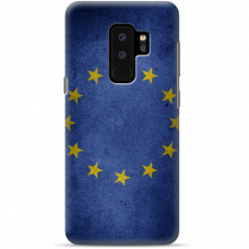 "Samsung Galaxy S9 plus silicone phone case with unique design 1.0 mm ""u-case Airskin EU design"""