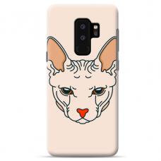 "Samsung Galaxy S9 plus silicone phone case with unique design 1.0 mm ""u-case Airskin Kato design"""