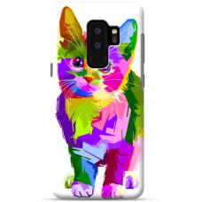 "Samsung Galaxy S9 plus silicone phone case with unique design 1.0 mm ""u-case Airskin Kitty design"""