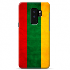 "Samsung Galaxy S9 plus silicone phone case with unique design 1.0 mm ""u-case Airskin Lietuva design"""