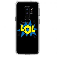 "Samsung Galaxy S9 plus silicone phone case with unique design 1.0 mm ""u-case Airskin LOL design"""