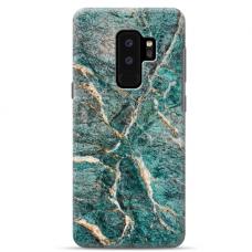 "Samsung Galaxy S9 plus silicone phone case with unique design 1.0 mm ""u-case Airskin Marble 1 design"""