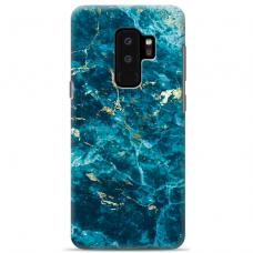 "Samsung Galaxy S9 plus silicone phone case with unique design 1.0 mm ""u-case Airskin Marble 2 design"""