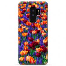 "Samsung Galaxy S9 plus silicone phone case with unique design 1.0 mm ""u-case Airskin Nature 2 design"""