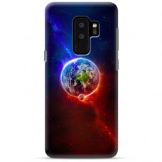 "Samsung Galaxy S9 plus silicone phone case with unique design 1.0 mm ""u-case Airskin Nature 4 design"""