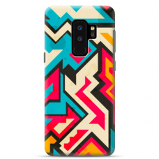 "Samsung Galaxy S9 plus silicone phone case with unique design 1.0 mm ""u-case Airskin Pattern 7 design"""