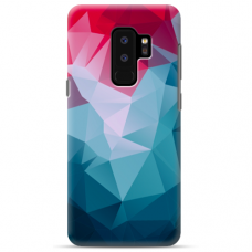 "Samsung Galaxy S9 plus silicone phone case with unique design 1.0 mm ""u-case Airskin Pattern 8 design"""