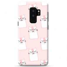 "Samsung Galaxy S9 plus silicone phone case with unique design 1.0 mm ""u-case Airskin Pink Kato design"""
