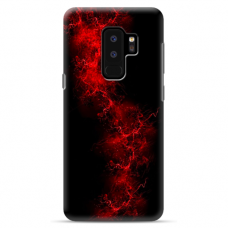 "Samsung Galaxy S9 plus silicone phone case with unique design 1.0 mm ""u-case Airskin Space 3 design"""