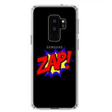 "Samsung Galaxy S9 plus silicone phone case with unique design 1.0 mm ""u-case airskin ZAP design"""