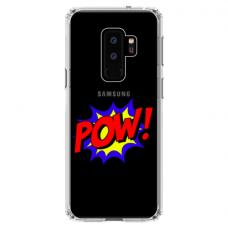"Samsung Galaxy S9 plus silicone phone case with unique design 1.0 mm ""u-case airskin POW design"""