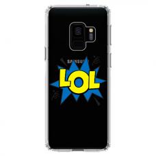 "Samsung Galaxy S9 Unique Silicone Case 1.0 mm ""u-case Airskin LOL design"""
