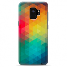 "Samsung Galaxy S9 Unique Silicone Case 1.0 mm ""u-case Airskin Pattern 3 design"""