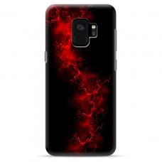 "Samsung Galaxy S9 Unique Silicone Case 1.0 mm ""u-case Airskin Space 3 design"""