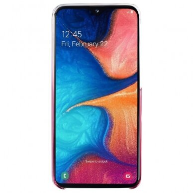 Samsung Gradation Cover hard gradient case for Samsung Galaxy A20e pink (EF-AA202CPEGWW) 2