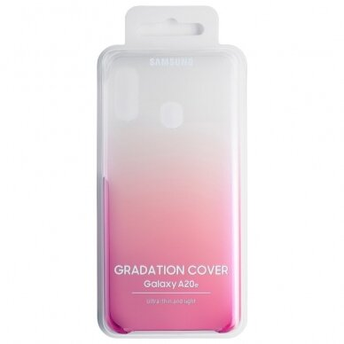 Samsung Gradation Cover hard gradient case for Samsung Galaxy A20e pink (EF-AA202CPEGWW) 3