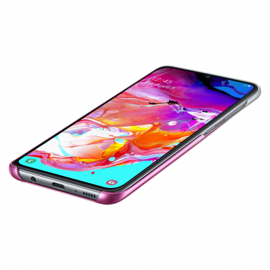 Samsung Gradation Cover hard gradient case for Samsung Galaxy A70 pink (EF-AA705CPEGWW) 4
