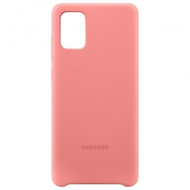 Samsung Silicone Cover Flexible Gel Case for Samsung Galaxy A71 pink (EF-PA715TPEGEU) 5