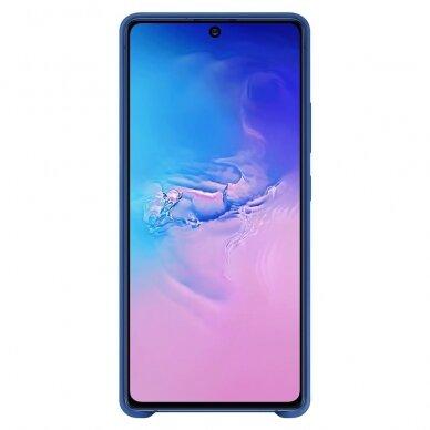 Samsung Silicone Cover Flexible Gel Case for Samsung Galaxy S10 lite blue (EF-PG770TLEGEU) 2
